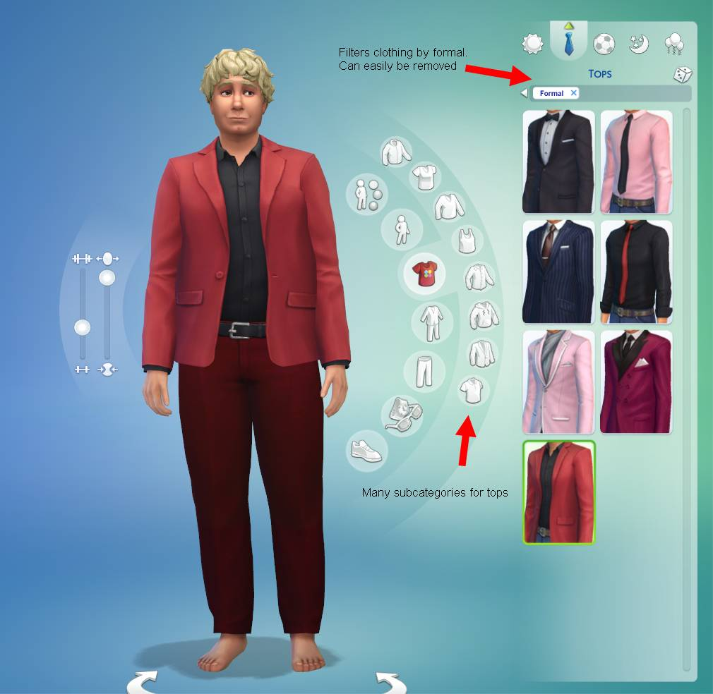 Sims 4 Cas Demo My Impressions Crinrict 39 S Sims 4 Help Blog