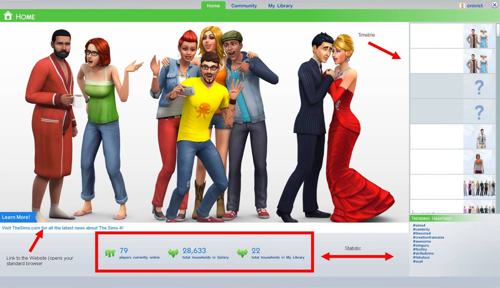 The Gallery – Crinrict's Sims 4 Help Blog