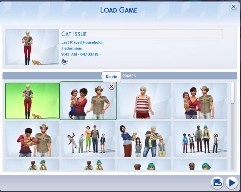 Save Games – Crinric'ts Sims 4 Help Blog