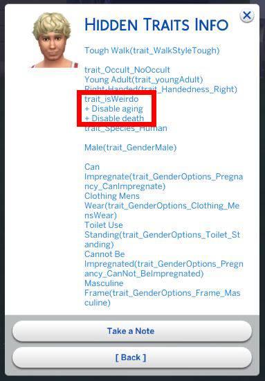 Sim don't age/die anymore – Crinric'ts Sims 4 Help Blog