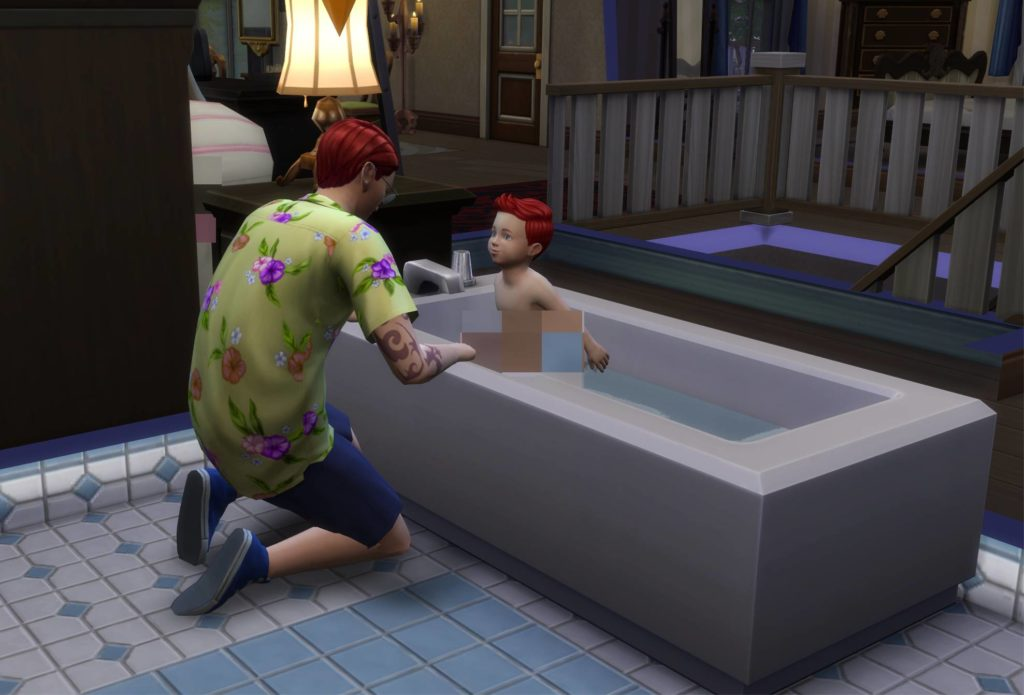 Cant Bath Toddler Crinricts Sims 4 Help Blog