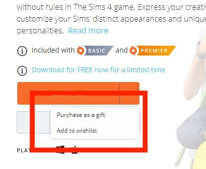 OFFER ENDED] Free Sims 4 Base Game – Questions and Issues