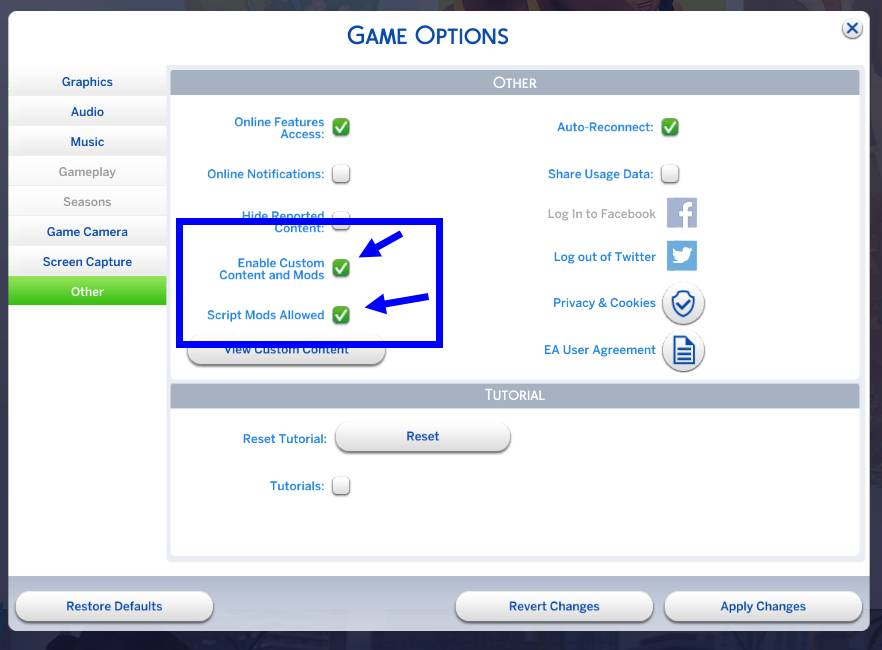 Mods/Custom Content doesn t show up Crinrict s Sims 4 Help Blog
