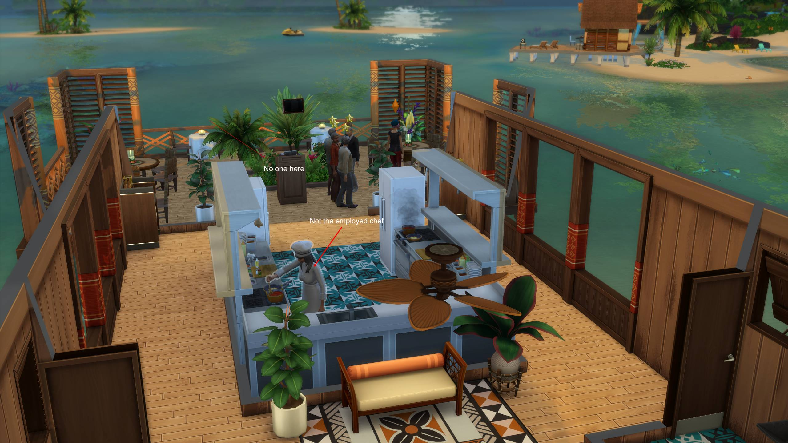 Fixed Restaurant Employees Do Not Appear In Sulani Crinrict S Sims 4 Help Blog