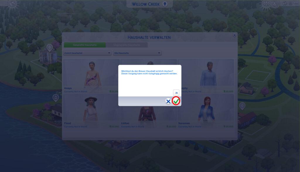Sims 4 Agenten Einstellen