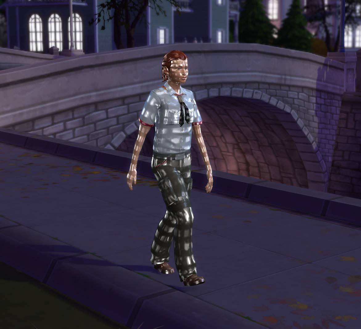 My Sim is all shiny and full of random textures – Crinric'ts