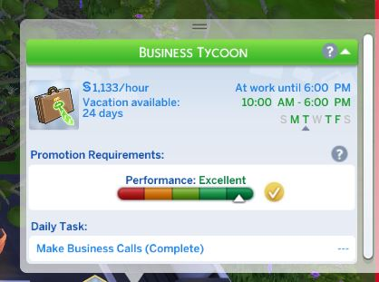 FIXED] Sims aren't promoted after level 10 – Crinric'ts Sims